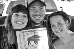 Dorielle Caimi, Graham Eden, Teja Prim, La Monte's Buffalo